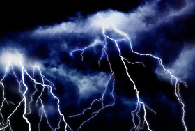 Skadeservice - elektronikskader efter tordenvejr