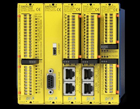 dina elektronik safeline-serien