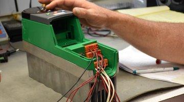 control techniques motorstyring repareres