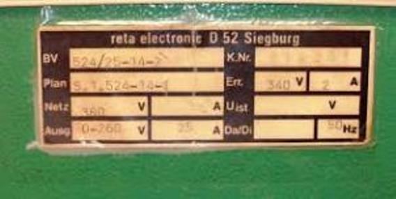 Reta Electronic motorstyring