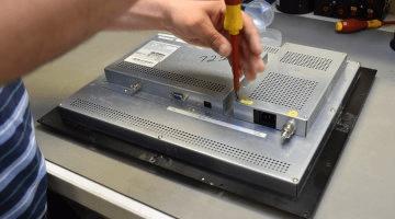 Reparation af fladskærme